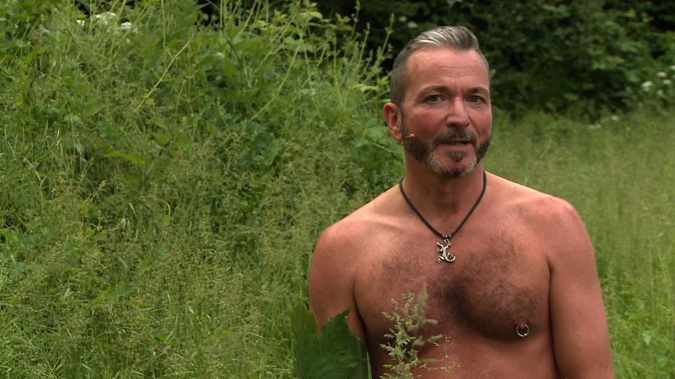 Männerlust im Wald